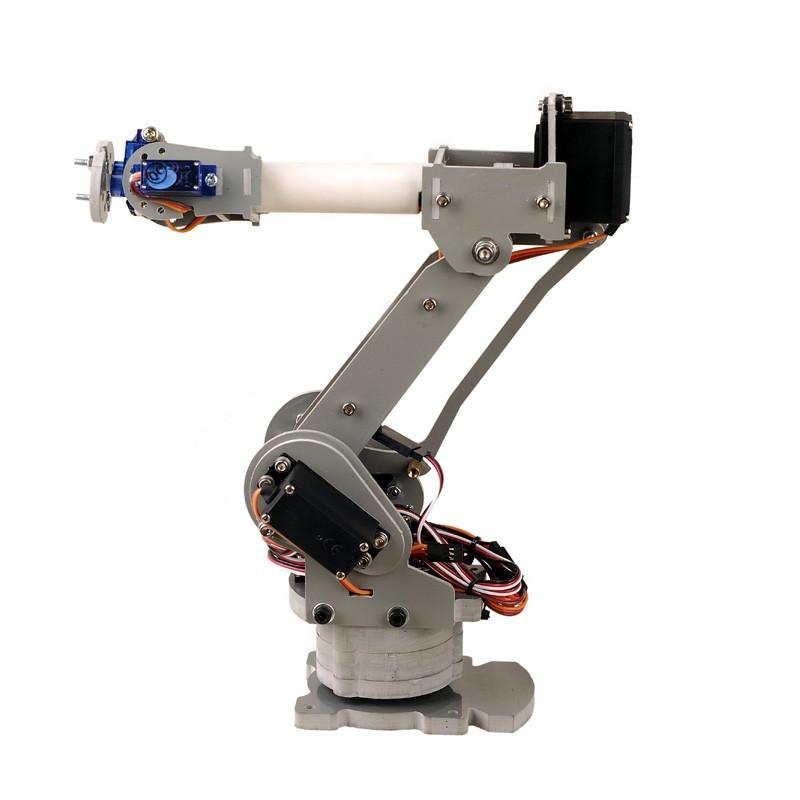 Best ideas about DIY Robot Arm . Save or Pin 6 Axis Robot Arm 3D Printing Arduino Robotics Now.