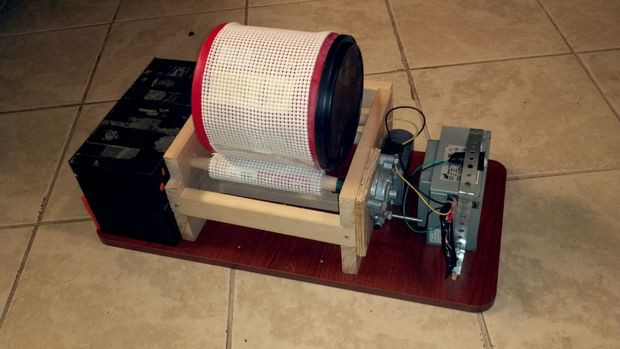 Best ideas about DIY Rock Tumbler . Save or Pin DIY Rock Tumbler Now.