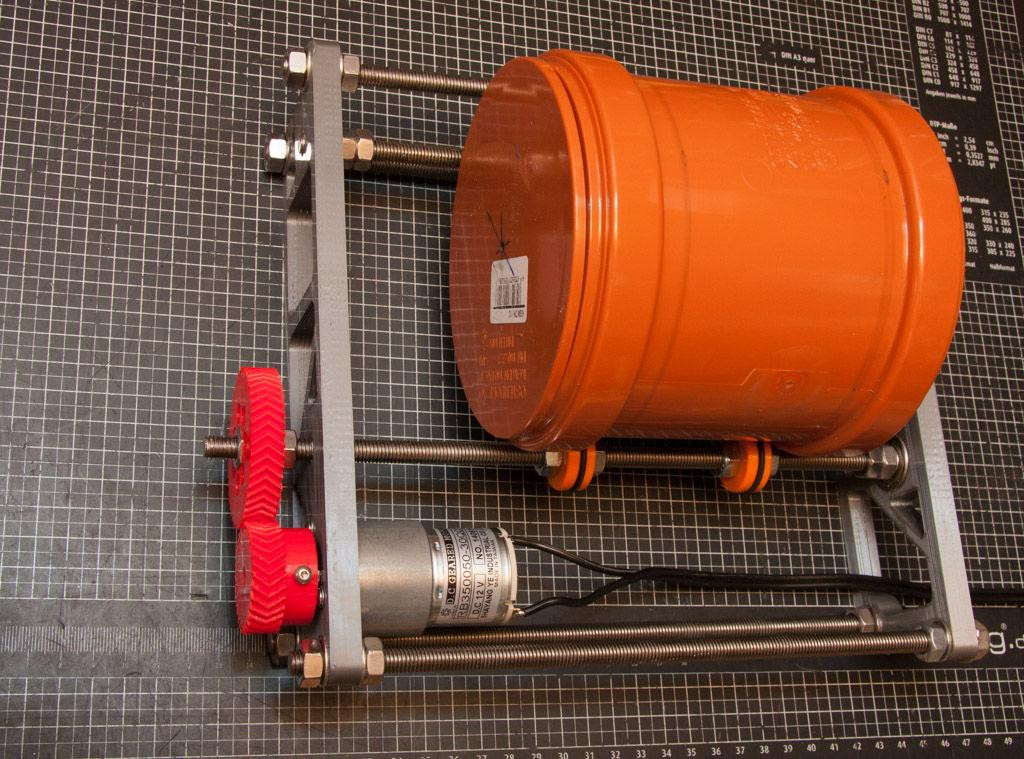 Best ideas about DIY Rock Tumbler . Save or Pin Joerg Torhoff's $50 Rock Tumbler Amazingly Polishes Metal Now.