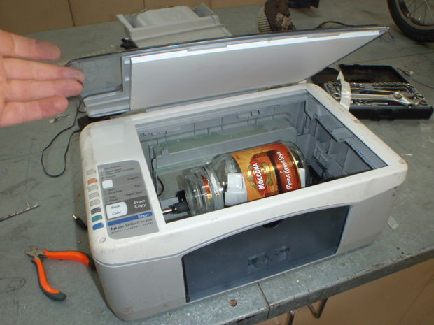 Best ideas about DIY Rock Tumbler . Save or Pin Coin Tumbler Printer Hack 4 Steps with Now.