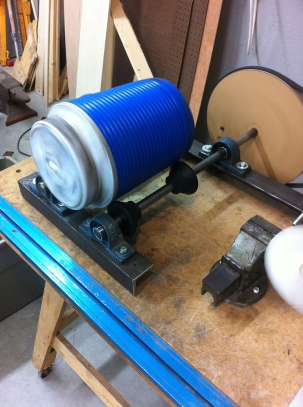 Best ideas about DIY Rock Tumbler . Save or Pin Homemade small tumbler Metal and Wood projects Now.