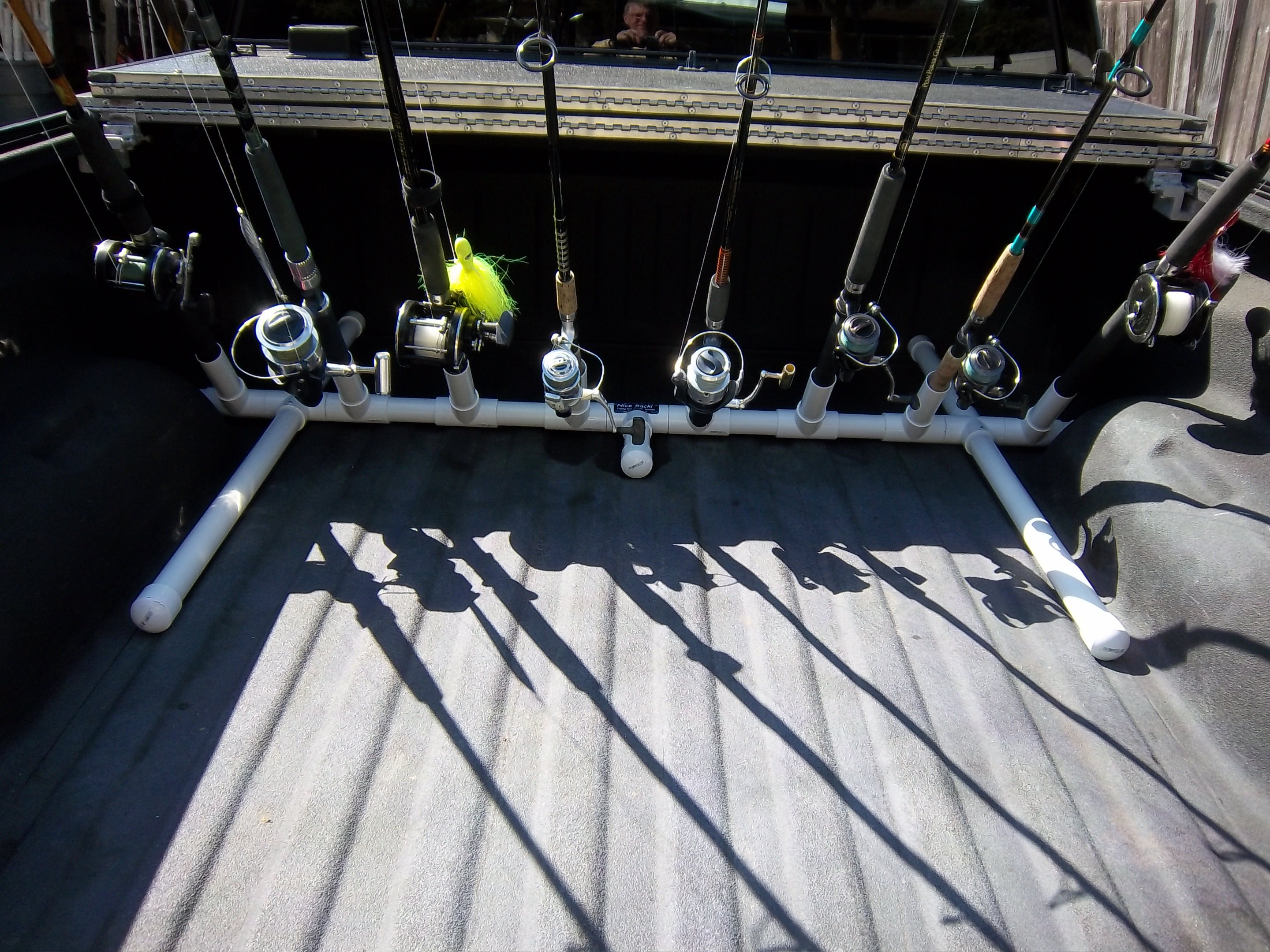 Best ideas about DIY Rod Rack . Save or Pin Truck bed fishing rod transport rack holder $40 The Now.