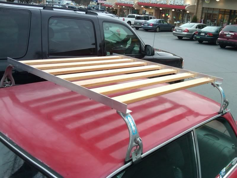 Best ideas about DIY Roof Rack Mounts . Save or Pin DIY roof rack for $100 Transport Now.