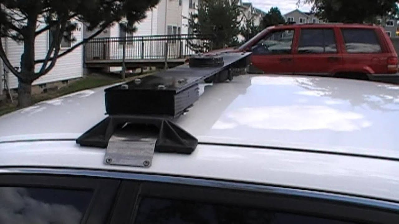 Best ideas about DIY Roof Rack Mounts . Save or Pin Homemade Train Horn Vehicle Roof Rack Mounting Now.