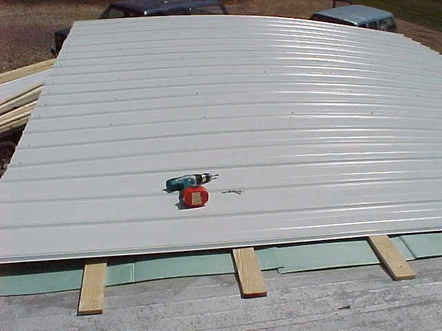 Best ideas about DIY Roof Replacement . Save or Pin Mobile Home Metal Roof Replacement Install DIY Now.