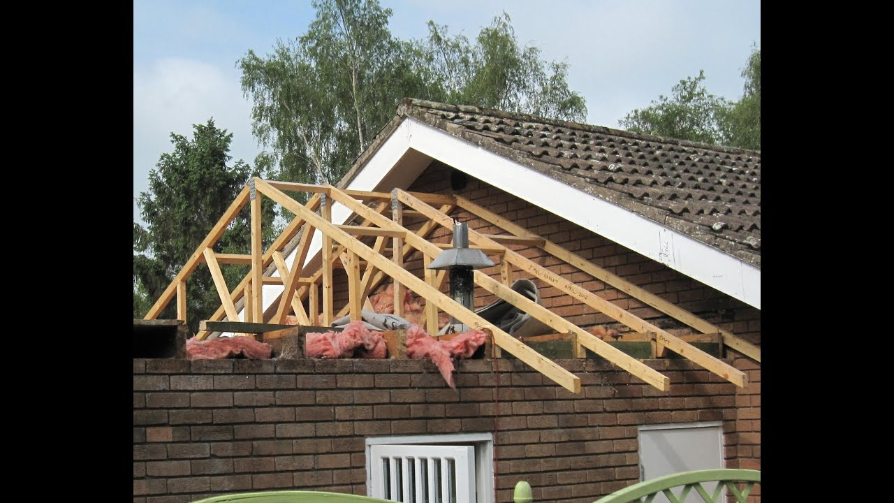 Best ideas about DIY Roof Replacement . Save or Pin Garage Roof Replacement DIY wmv Now.
