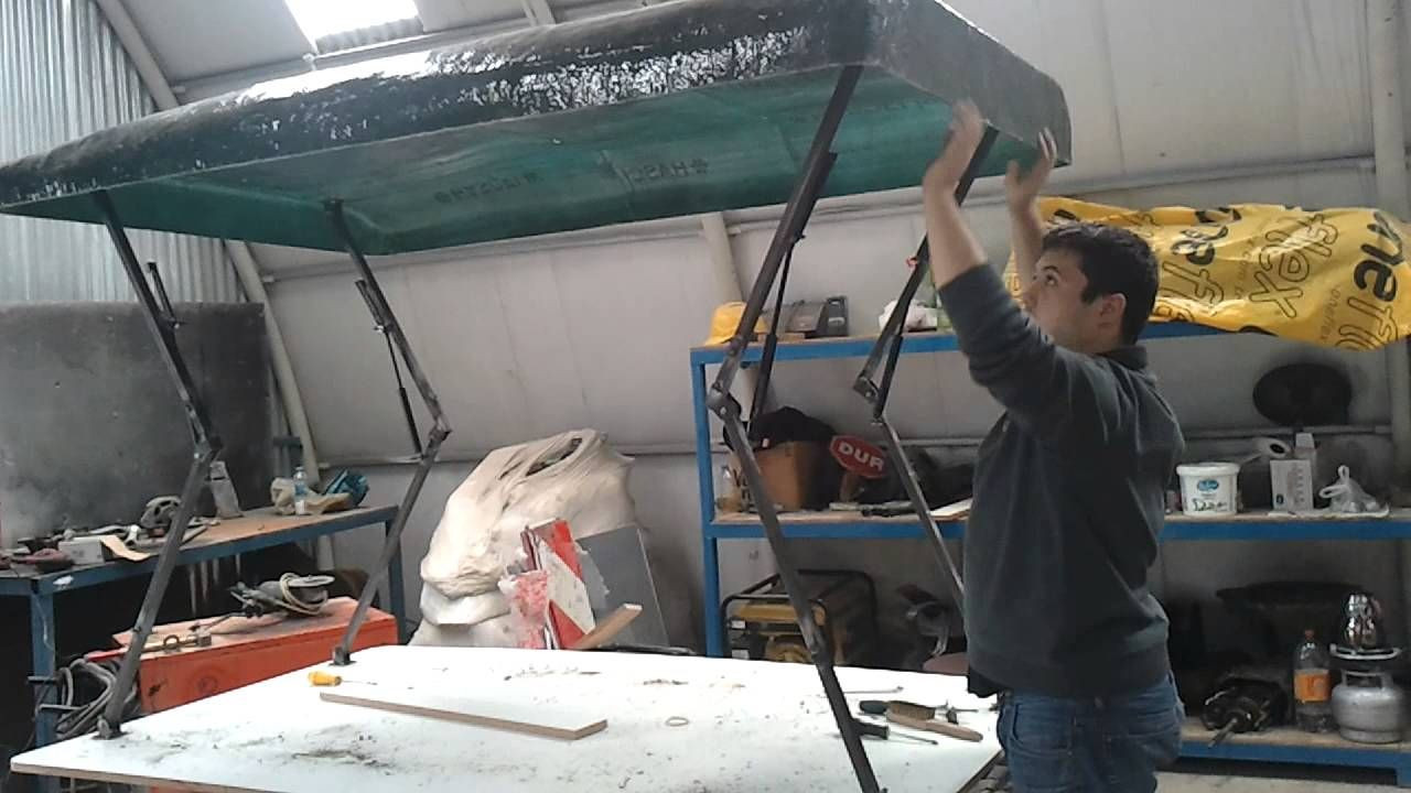 Best ideas about DIY Roof Top Tents . Save or Pin roof top tent project 2 bugout trailer Now.