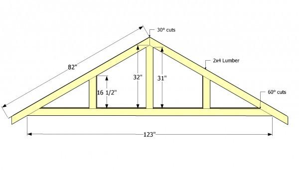 Best ideas about DIY Roof Trusses Plans . Save or Pin Diy Carport Plans MyOutdoorPlans Now.