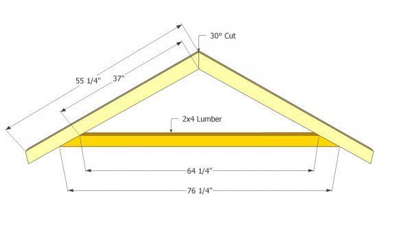 Best ideas about DIY Roof Trusses Plans . Save or Pin Gable Shed Roof Plans MyOutdoorPlans Now.