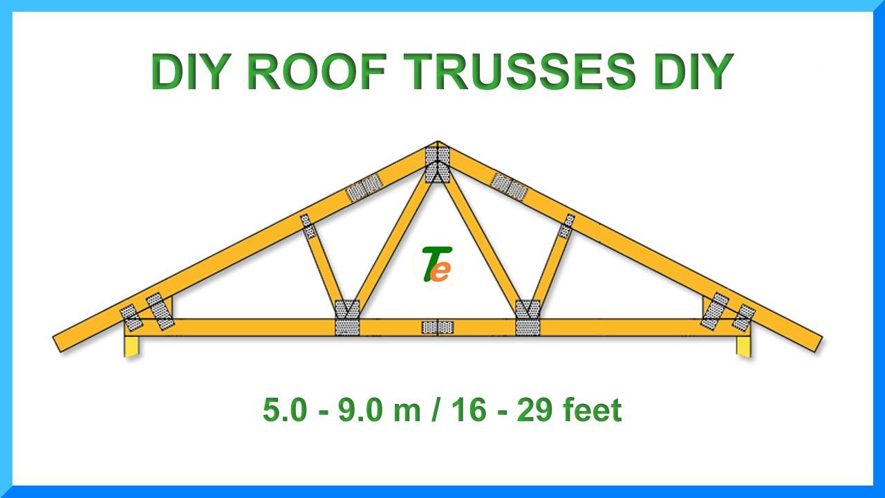 Best ideas about DIY Roof Trusses Plans . Save or Pin Roof Trusses DIY Download Description Now.