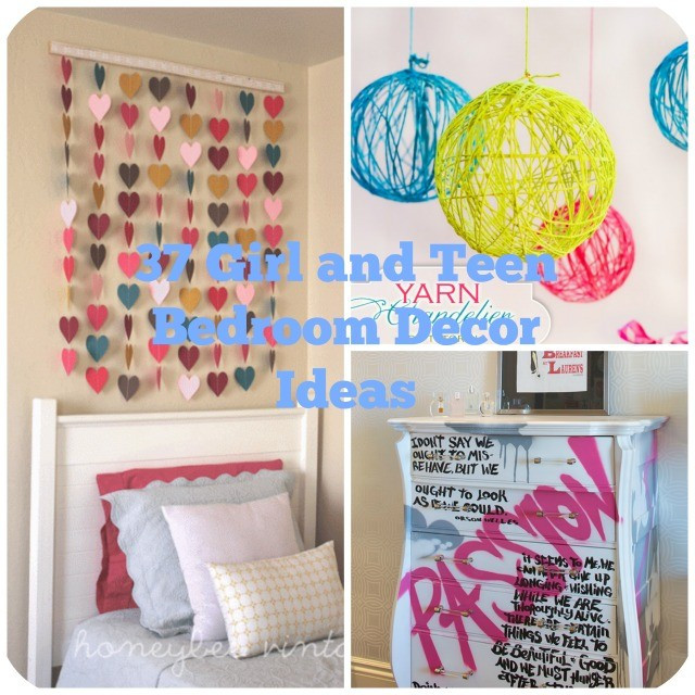 Best ideas about DIY Room Decor For Teens . Save or Pin 37 DIY Ideas for Teenage Girl s Room Decor Now.