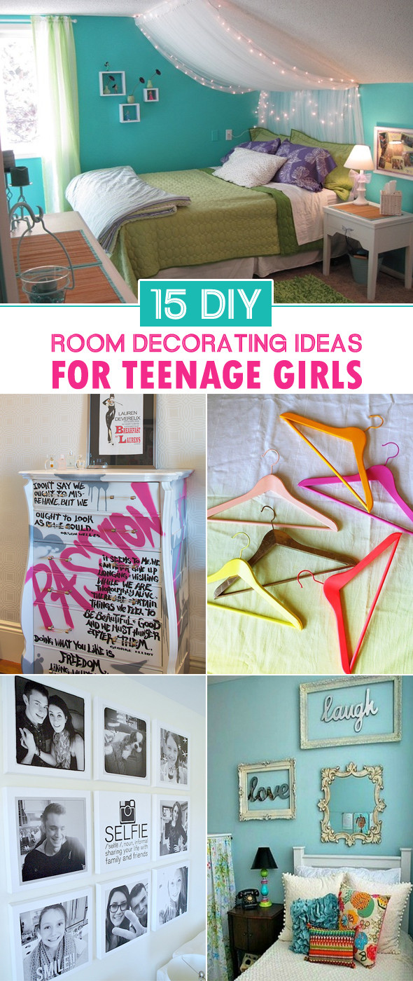 Best ideas about DIY Room Decor For Teens . Save or Pin 15 DIY Room Decorating Ideas For Teenage Girls Now.