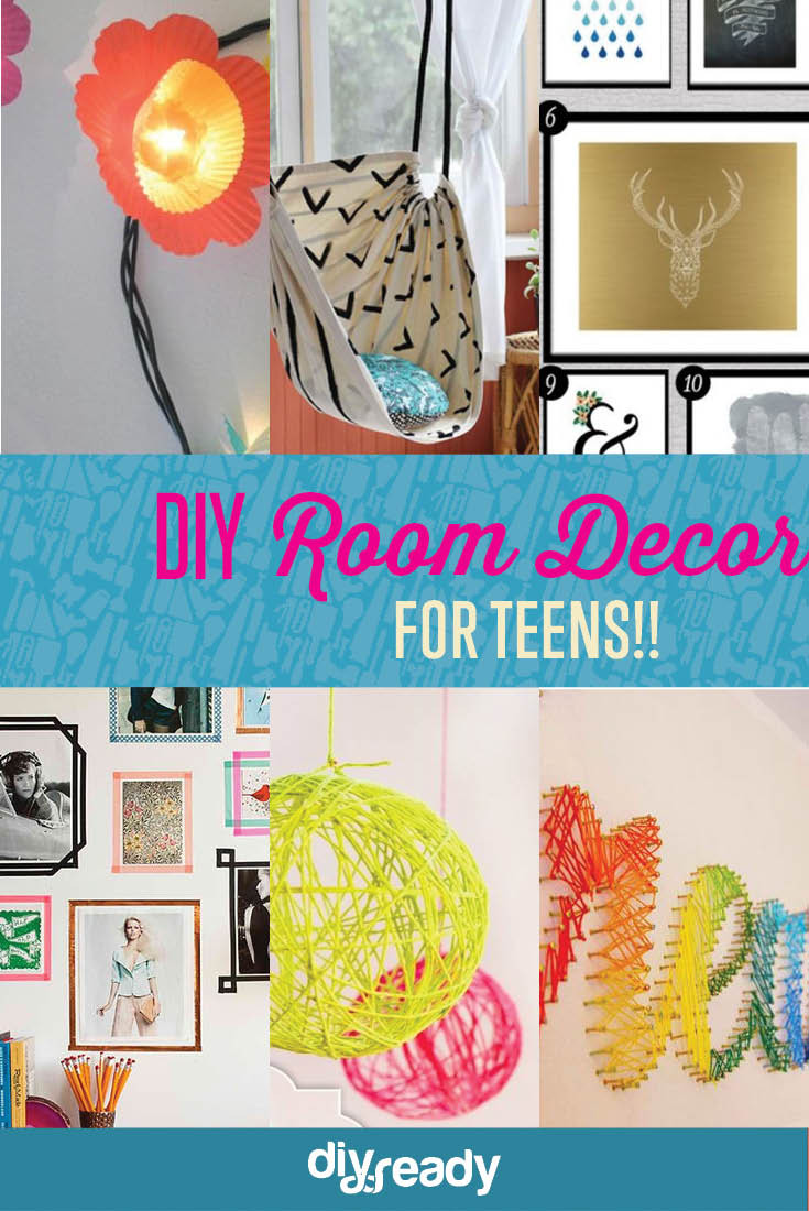 Best ideas about DIY Room Decor For Teens . Save or Pin DIY Teen Room Decor Projects DIY Ready Now.