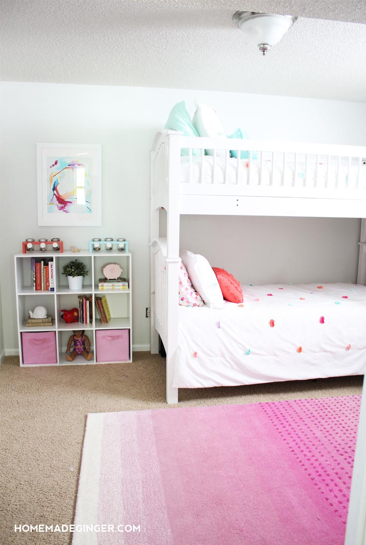 Best ideas about DIY Room Decoration For Girls . Save or Pin Girls Bedroom Reveal DIY Room Decor Homemade Ginger Now.