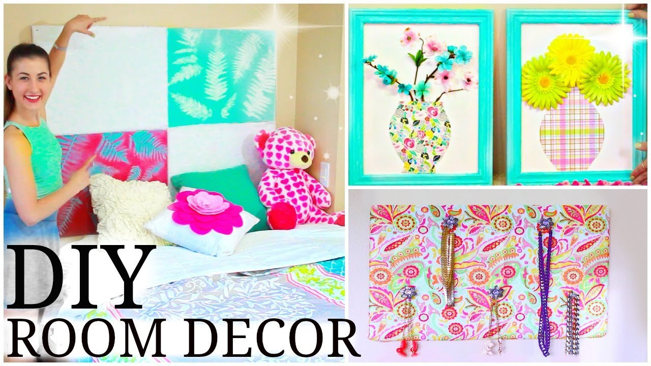 Best ideas about DIY Room Decoration For Girls . Save or Pin DIY Tumblr Room Decor for Teens Now.