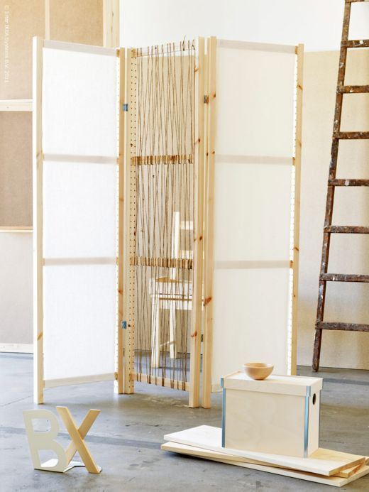 Best ideas about DIY Room Divider Screen . Save or Pin Diy Folding Screen Room Divider WoodWorking Projects & Plans Now.