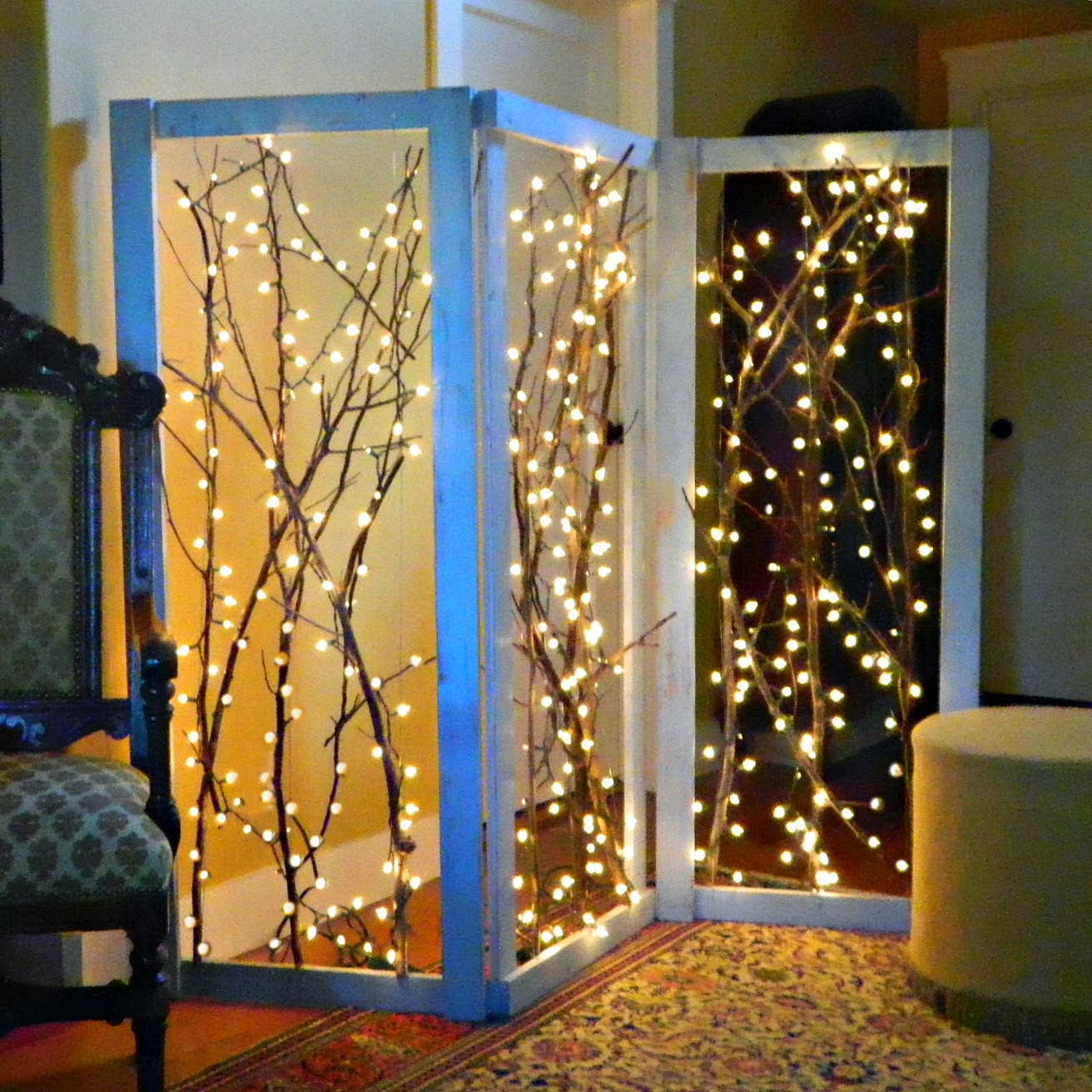 Best ideas about DIY Room Divider Screen . Save or Pin Mark Montano Twinkling Branches Room Divider DIY Now.