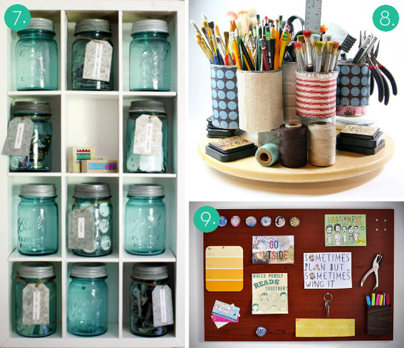 Best ideas about DIY Room Organizing Ideas . Save or Pin Eye Candy 12 Brilliant Craft Room Organization and Now.