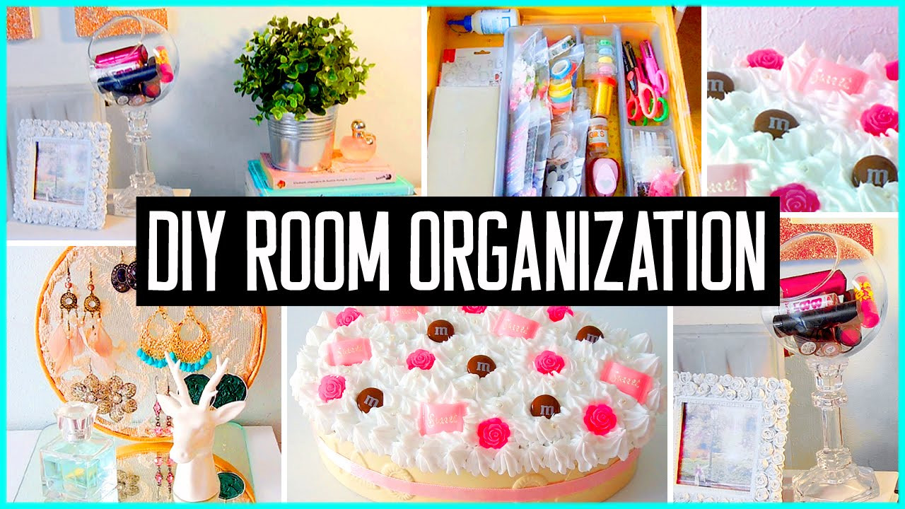 Best ideas about DIY Room Organizing Ideas . Save or Pin DIY room organization & storage ideas Room decor Clean Now.