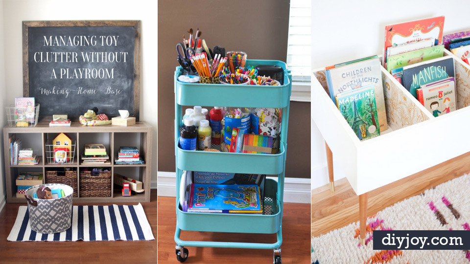 Best ideas about DIY Room Organizing Ideas . Save or Pin 30 DIY Organizing Ideas for Kids Rooms Now.