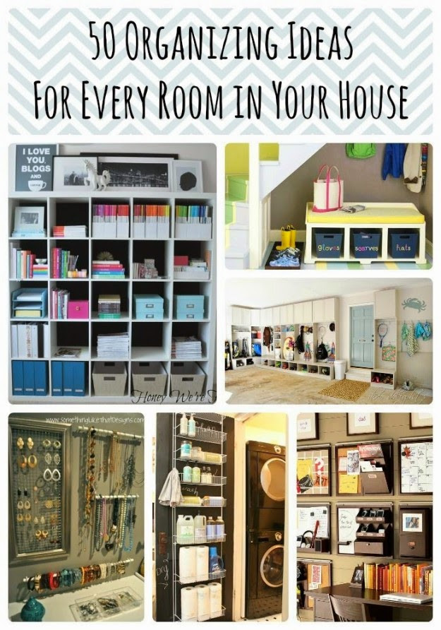 Best ideas about DIY Room Organizing Ideas . Save or Pin 50 DIY Organization Ideas For Every Room In Your Home Now.