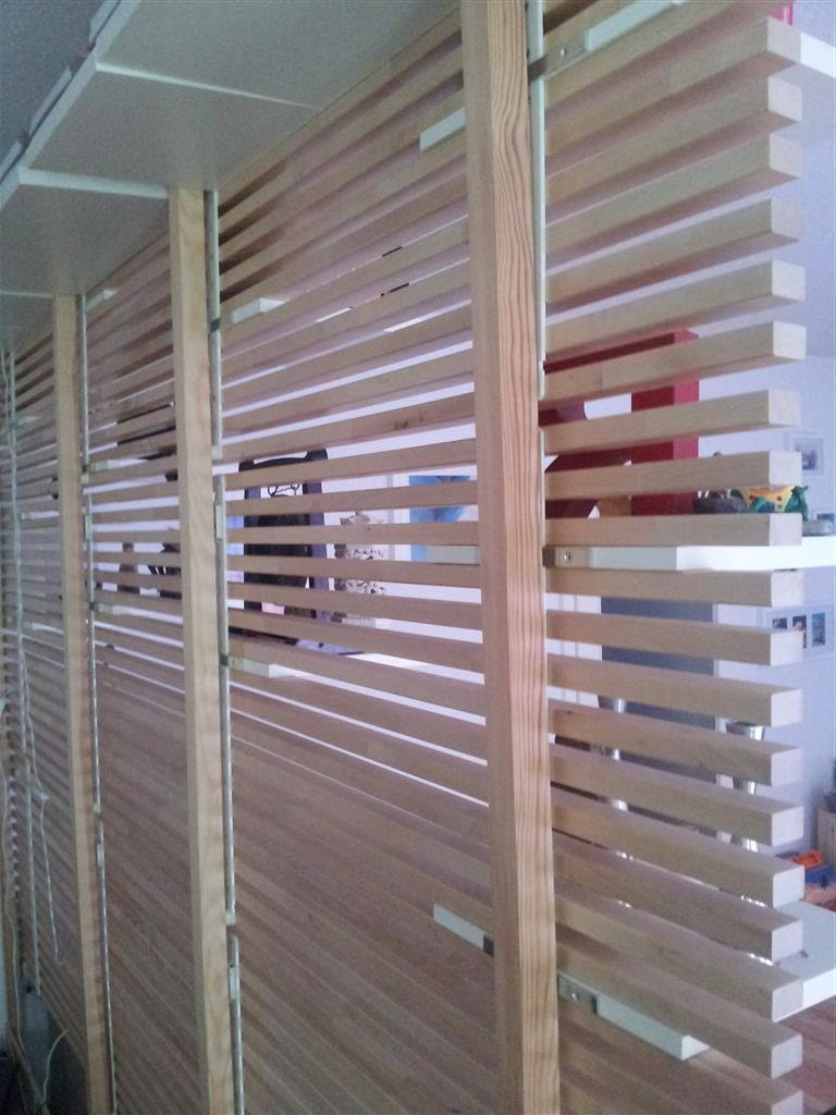Best ideas about DIY Room Partitions . Save or Pin Wooden Pallet Room Divider Now.