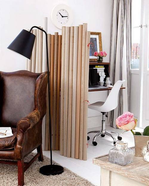 Best ideas about DIY Room Partitions . Save or Pin 20 DIY Room Dividers To Help Utilize Every Inch Your Home Now.