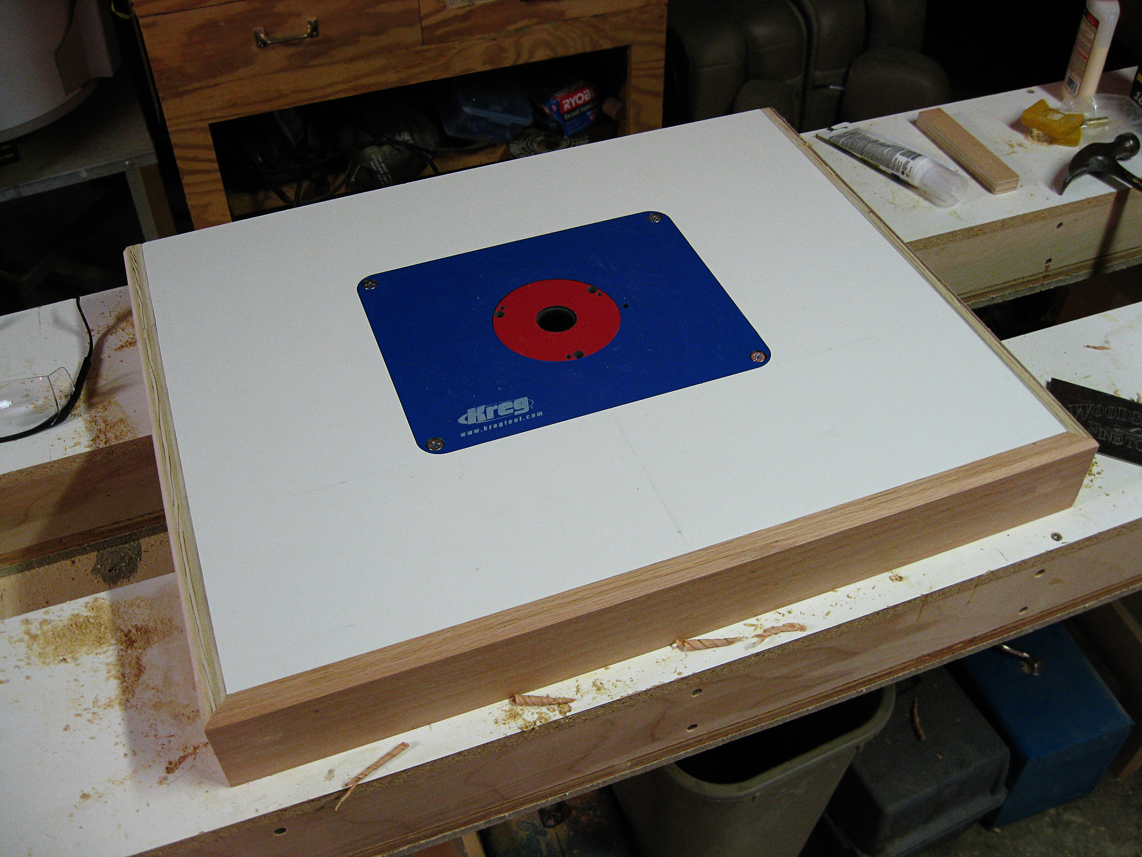 Best ideas about DIY Router Table Top . Save or Pin Kreg router table cabinet plans Plans DIY How to Make Now.