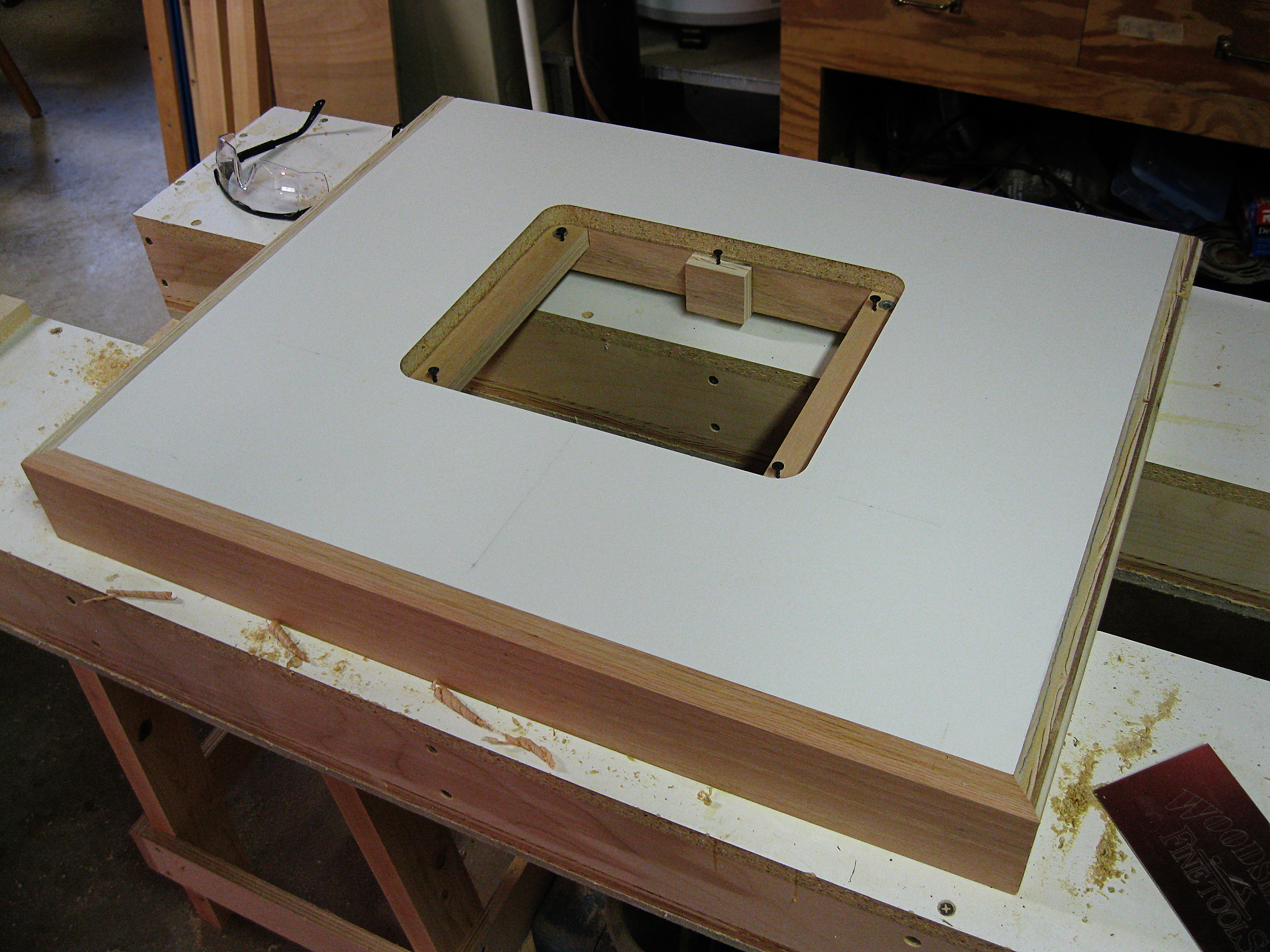 Best ideas about DIY Router Table Top . Save or Pin Woodcraft router table top Plans DIY How to Make Now.