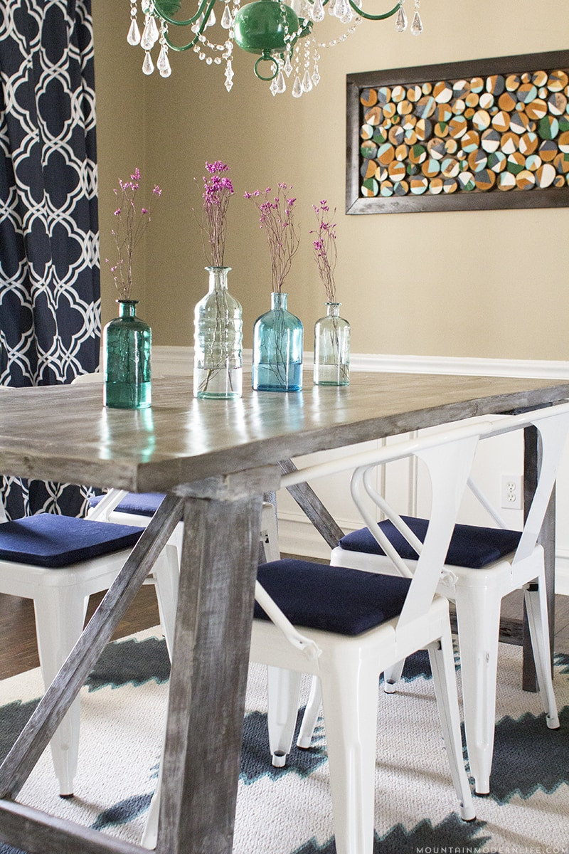 Best ideas about DIY Rustic Dining Table . Save or Pin West Elm Inspired Dining Table Mountain Modern Life Now.