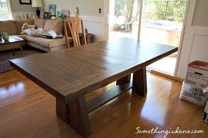 Best ideas about DIY Rustic Dining Table . Save or Pin DIY Rustic Dining Table Now.