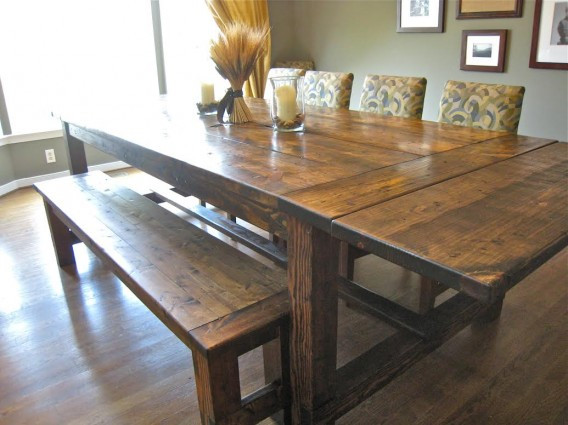 Best ideas about DIY Rustic Dining Table . Save or Pin How to Build a Dining Room Table 13 DIY Plans Now.