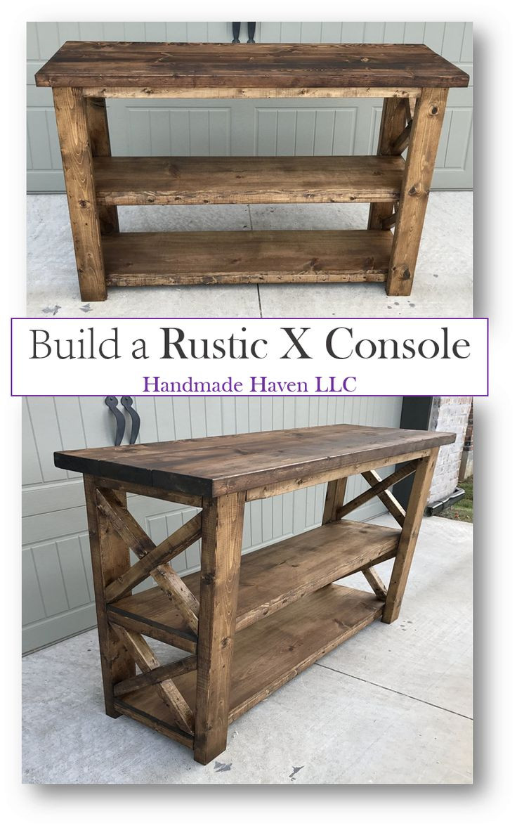 Best ideas about DIY Rustic Furniture . Save or Pin 17 Best ideas about Rustic Console Tables on Pinterest Now.