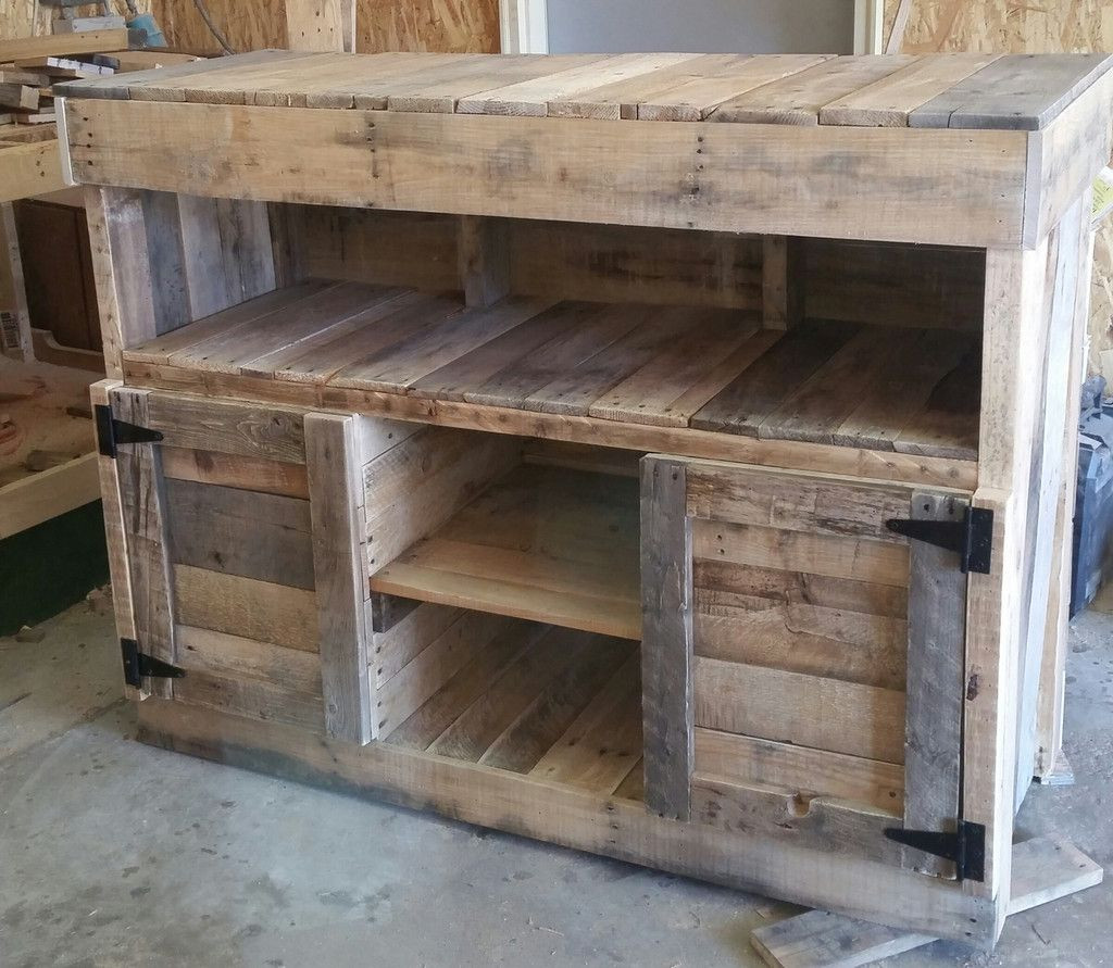 Best ideas about DIY Rustic Furniture . Save or Pin Media Center S&S Pallet Creations Now.