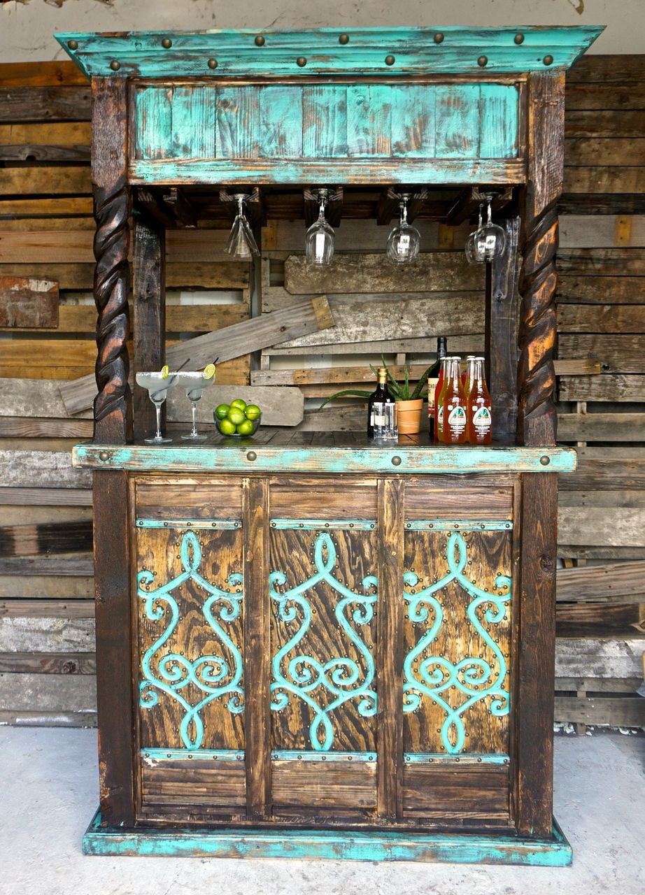 Best ideas about DIY Rustic Furniture . Save or Pin San Cristobal Cantina Bar Ranch House Decor Now.