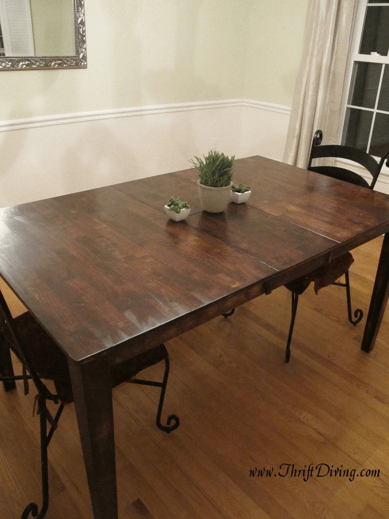 Best ideas about DIY Rustic Kitchen Tables . Save or Pin Colossal DIY Fail Rustic Dining Room Table Now.