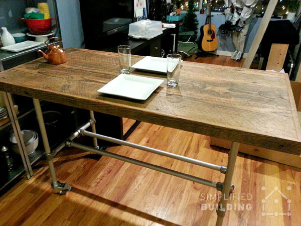 Best ideas about DIY Rustic Kitchen Tables . Save or Pin 51 DIY Table Ideas Built with Pipe Now.