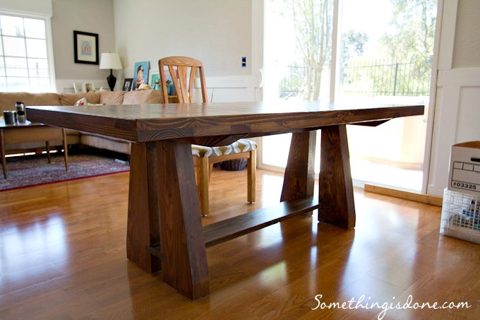 Best ideas about DIY Rustic Kitchen Tables . Save or Pin DIY Rustic Dining Table Now.