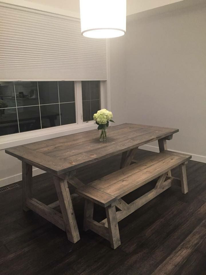 Best ideas about DIY Rustic Kitchen Tables . Save or Pin 25 best Rustic Kitchen Tables ideas on Pinterest Now.