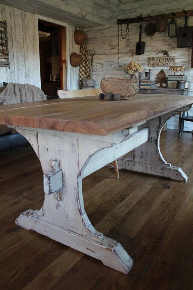 Best ideas about DIY Rustic Kitchen Tables . Save or Pin Amazing of DIY Rustic Kitchen Table 17 Best Ideas About Now.