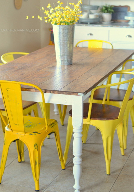 Best ideas about DIY Rustic Kitchen Tables . Save or Pin DIY Revamped Rustic Kitchen Table Craft O Maniac Now.