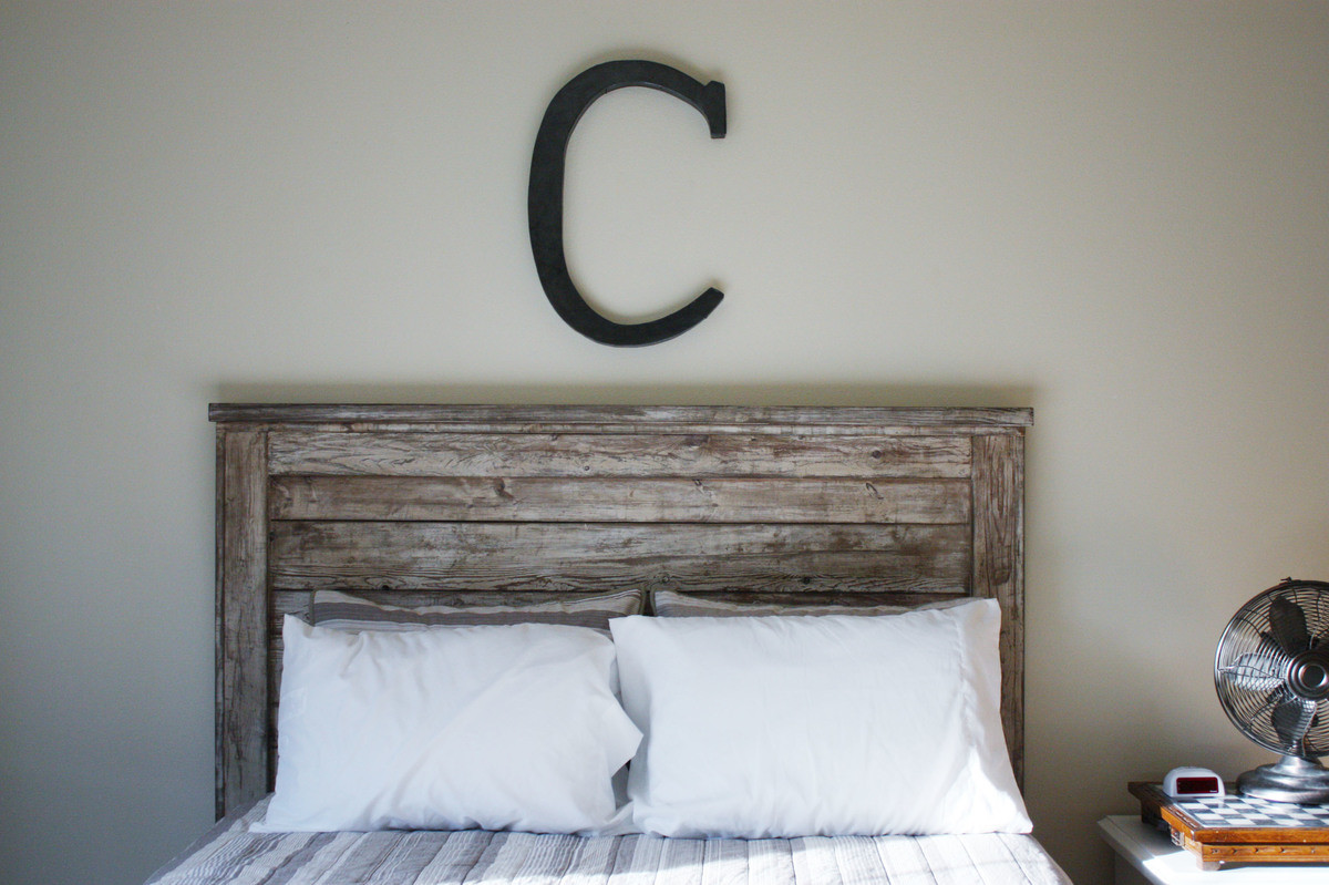 Best ideas about DIY Rustic Wood Headboard . Save or Pin Ana White Now.