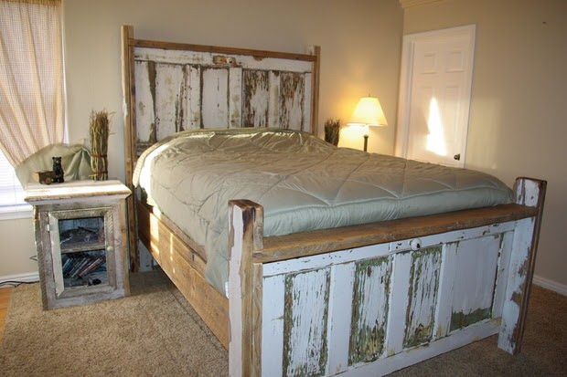 Best ideas about DIY Rustic Wood Headboard . Save or Pin DIY Rustic Headboards Now.