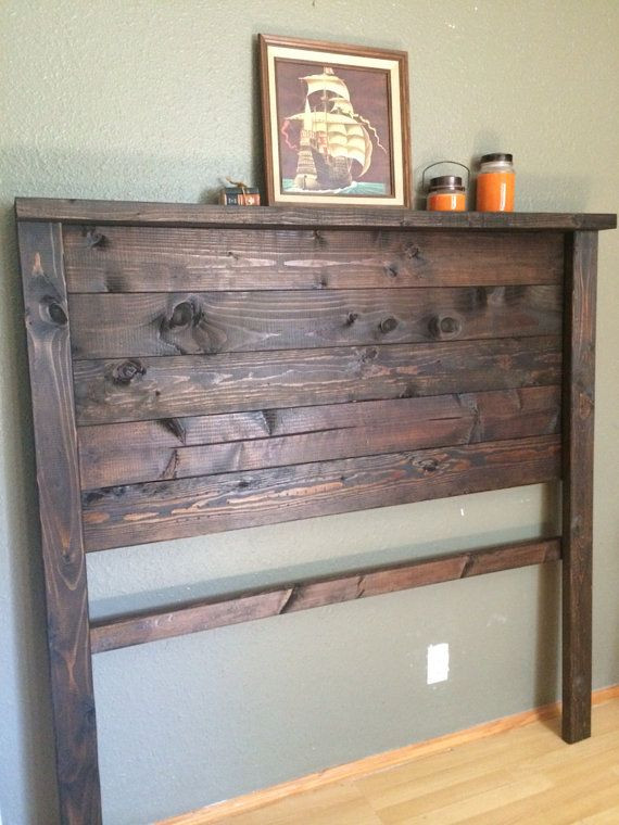 Best ideas about DIY Rustic Wood Headboard . Save or Pin Best 25 Diy headboard wood ideas on Pinterest Now.