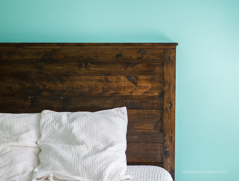 Best ideas about DIY Rustic Wood Headboard . Save or Pin How To Make A DIY Rustic Headboard Now.