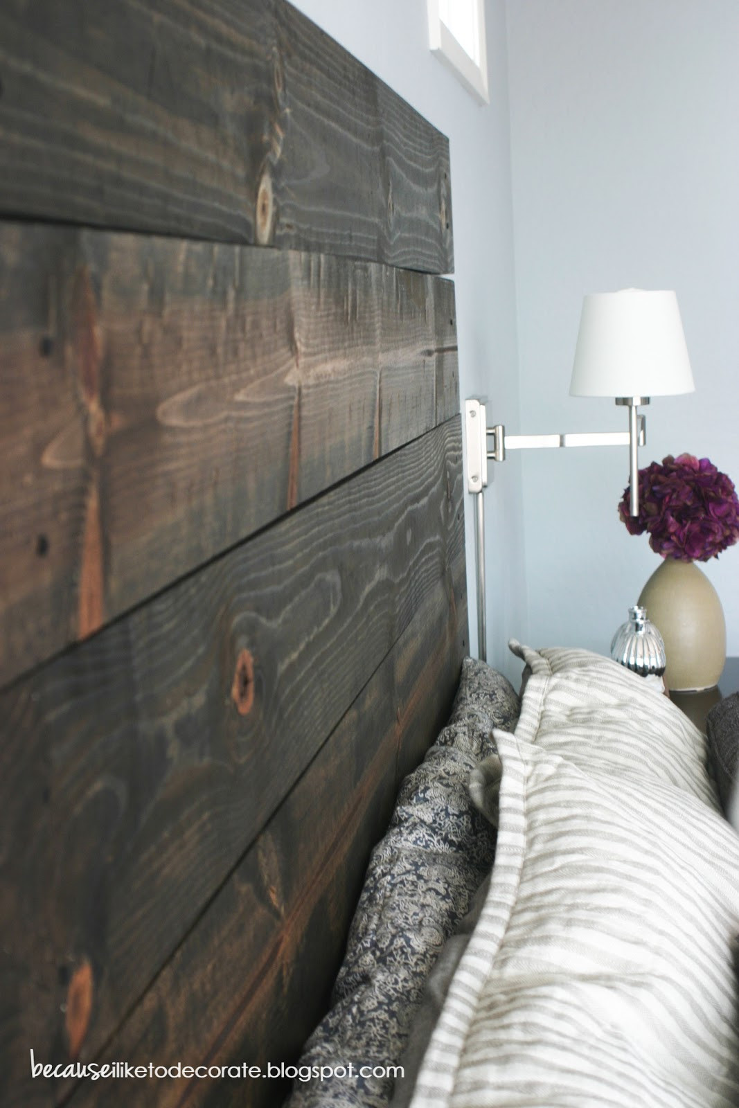 Best ideas about DIY Rustic Wood Headboard . Save or Pin DIY Rustic Headboard Tutorial Now.