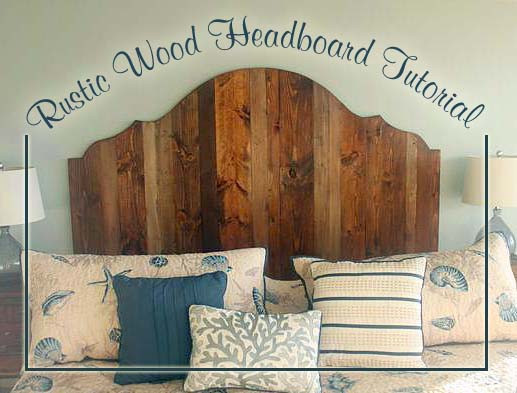 Best ideas about DIY Rustic Wood Headboard . Save or Pin How to Create a Rustic Wood King Headboard Pretty Handy Girl Now.