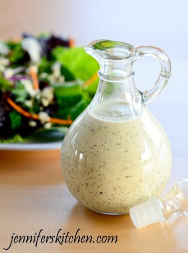 Best ideas about DIY Salad Dressings . Save or Pin Homemade Creamy Italian Salad Dressing Now.
