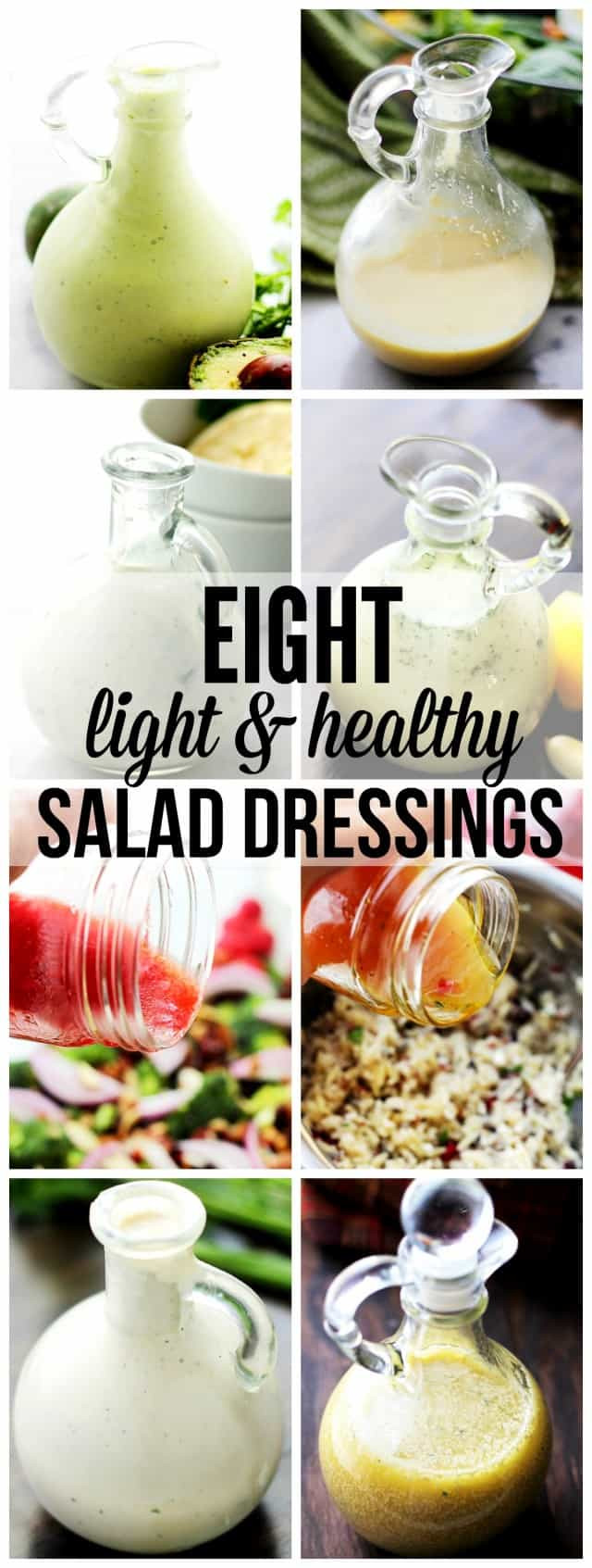 Best ideas about DIY Salad Dressings . Save or Pin Eight Light and Healthy Homemade Salad Dressings Recipes Now.