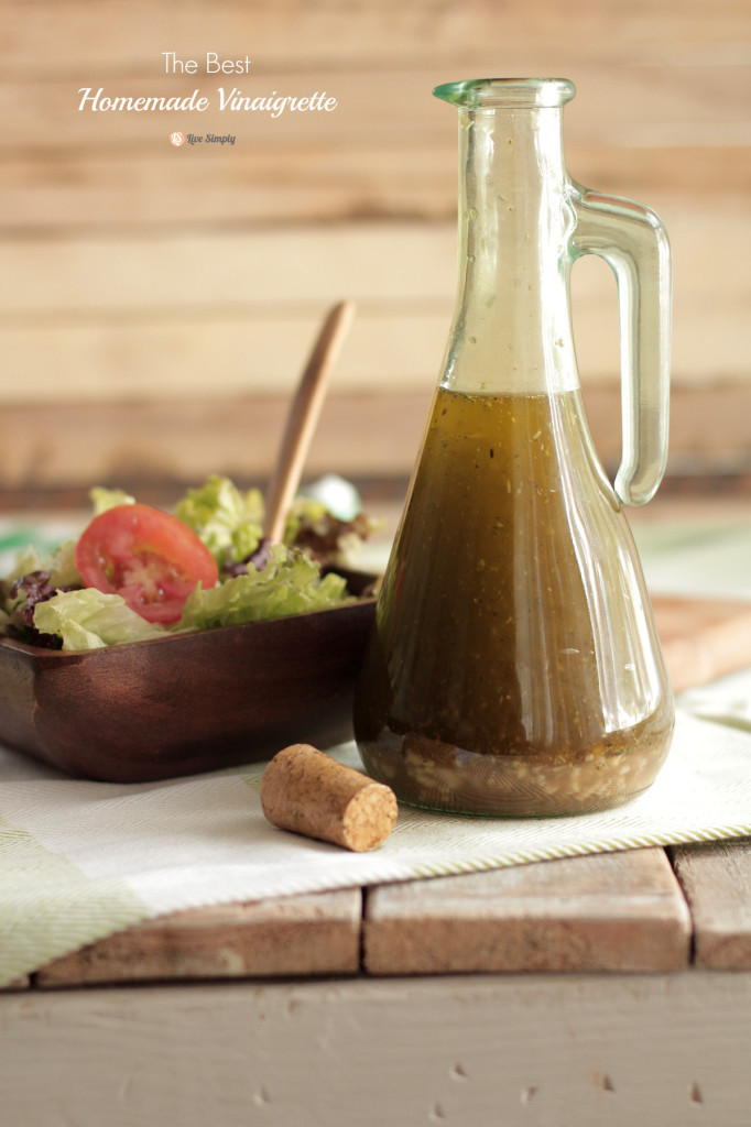 Best ideas about DIY Salad Dressings . Save or Pin The Best Homemade Vinaigrette Salad Dressing Live Simply Now.